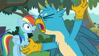Gallus screaming for teachers to stop S8E9