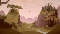 Grub and Piles settle halfway up the mountains S5E23