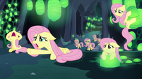 More Fluttershy Changelings crying to Discord S6E26