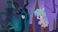 """Queen Chrysalis """"those are new"""" S9E17"""