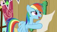 "Rainbow ""how about a silent auction"" S8E20"