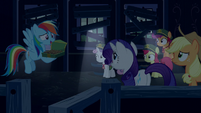 Rainbow Dash --unless there is-- S6E15