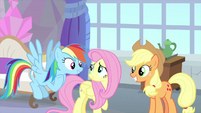 Rainbow and AJ want to learn from Fluttershy MLPS3