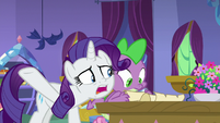 """Rarity """"you haven't been listening"""" S9E19"""
