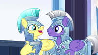"Royal guard 1 ""nearly as entertaining as Spike himself"" S6E16"