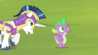 """Shining Armor """"what are you doing?"""" S4E24"""