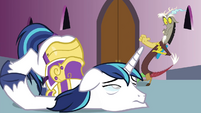 Shining Armor powerless S4E26