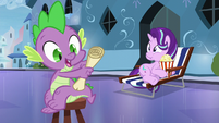 """Spike """"an important lesson to do"""" S6E1"""
