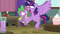 "Twilight ""I don't think I can coach Pinkie"" S9E16"