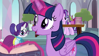 "Twilight Sparkle ""it's going to be fine"" S8E1"