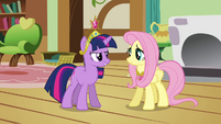 """Twilight and Fluttershy """"we need your help"""" S03E13"""