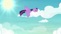 Twilight loop-de-looping in the sky S8E20