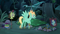 "Zephyr Breeze ""what's a pony got to do"" S6E11"