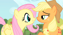 Fluttershy '... they could have their own apples to enjoy!' S4E07