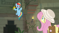 """Rainbow """"that doesn't leave this temple!"""" S9E21"""
