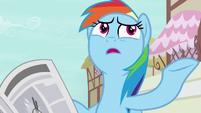 """Rainbow Dash """"secret pony adventurer of all time"""" S7E18"""