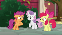 "Scootaloo ""Miss Cheerilee never lets us play"" S8E12"