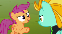 """Scootaloo """"what if I joined and dropped out"""" S8E20"""