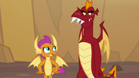 """Smolder """"just like old times"""" S9E9"""