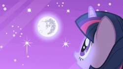 Twilight looks up at the moon S1E01.png