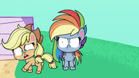 """Applejack """"got real there for a second"""" PLS1E2b"""