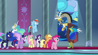 """Discord """"pretended to be very hurt"""" S9E2"""