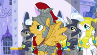 Flash and royal guards come to a halt S8E21