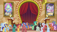 Flim advertising the tickets S6E20