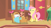 Fluttershy and coughing Philomena S01E22
