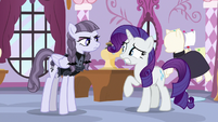 "Inky Rose giving Rarity a firm ""no"" S7E9"