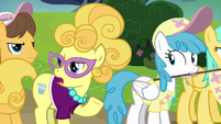 Lemon Chiffon disparaging Fluttershy again S7E14