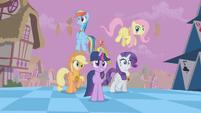 Main ponies Sans Pinkie Pie Shock S2E2