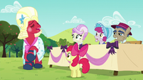 Orchard Blossom nervously laughs S5E17
