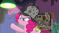 Pinkie -scheming of a way to get rid of them- S7E23