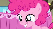 Pinkie Pie smiling as a filly S1E23
