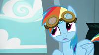 "Rainbow ""sunglasses are automatically cool"" S6E7"