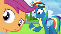 """Rainbow Dash """"and we're really close"""" S7E7"""