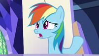 "Rainbow Dash ""carrying heavy stuff"" S8E21"