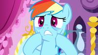 Rainbow Dash frightened S5E13