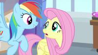 Rainbow interested in Fluttershy's secret MLPS3