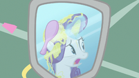 """Rarity """"can't have Photo Finish shoot my mane"""" S7E19"""