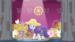 Rarity introduces new festival theme S4E13.png