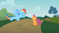 Scootaloo is still looking up S2E8