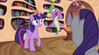 "Spike blurts out ""they're missing!"" S4E01"