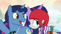Twilight's parents look forward to the Northern Stars S7E22