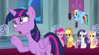 "Twilight Sparkle ""but that's so soon!"" S9E1"