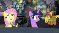 """Fluttershy """"find those aggressive flash bees"""" S7E20"""