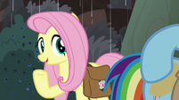 Fluttershy -even if our food's spoiled- S8E25