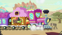 Friendship Express pulls in at last stop S8E23