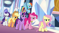 Mane Six arrive to save the day S9E1